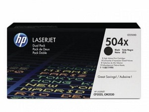 HP CE250XD Toner black