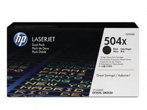 HP CE250XD Toner black