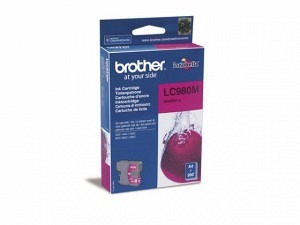 Brother LC-980M Tinte magenta