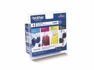 Brother LC-980VAL Tinten-Kit cmyk