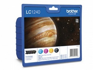Brother LC-1240VA Tinte CMYK