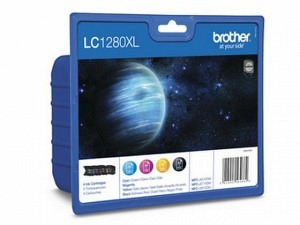 Brother LC-1280VA Tinte CMYK