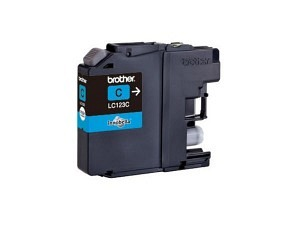 Brother LC-123C Tinte cyan
