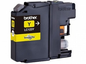 Brother LC-123Y Tinte yellow
