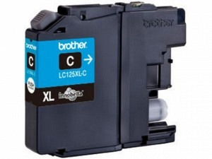 Brother LC-125XLC Tinte cyan