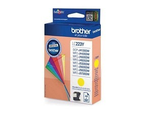Brother LC-223Y Tinte yellow