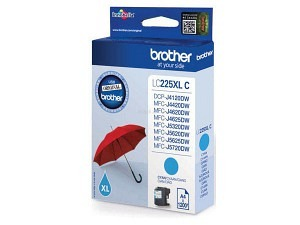 Brother LC-225XLC Tinte cyan
