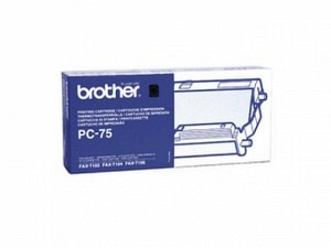 Brother PC-75 Kassette+Filmrollen