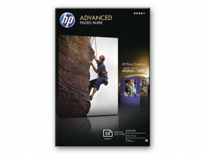 HP Q8691A Adv. Ink Photo Paper 10x15 250g