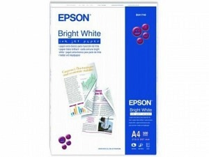 Epson S041749 Bright White Ink Paper A4 90g