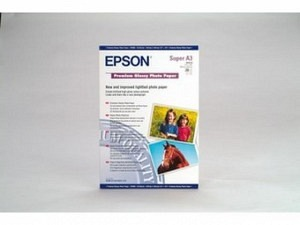 Epson S041316 Premium Ink Photo Paper A3+ 255g