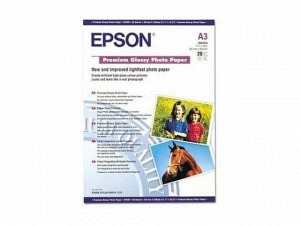 Epson S041315 Premium Ink Photo Paper A3 255g