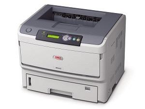 OKI B840dn Laserdrucker A3 mono