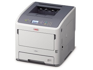 OKI B731dnw Laserdrucker A4 mono