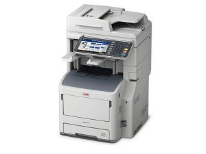 OKI MB770dnfax Kopierer MFP A4 mono