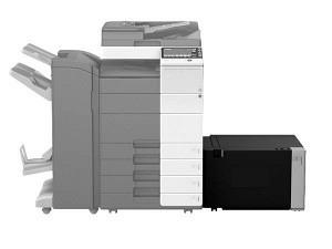 Develop LU-207 seitliche Grossraumkassette A3