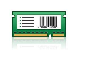 Lexmark BSD 21K0128 Karte für IPDS